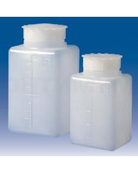 бутылка квадратная градуированная 500 мл, ПЭНД, LAMAPLAST