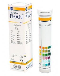 Пентафан (50 полос, кровь,кетоны,белок,рН,глюкоза)