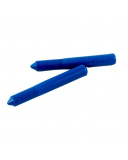карандаш по стеклу и фарфору восковой синий (50шт/упак)