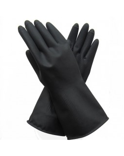 перчатки бытовые резиновые малые