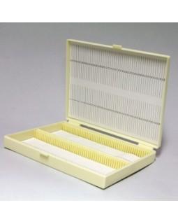 штатив-бокс ( 100шт) для хранения предметных стекол