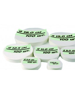 фильтр зеленая лента диаметр 7 см