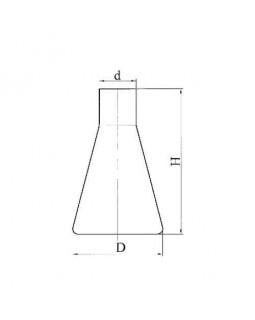 колба коническая КН-2-50-18 без делений